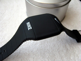 Excelente Reloj Nike Touch Caucho Negro Envio Gratis