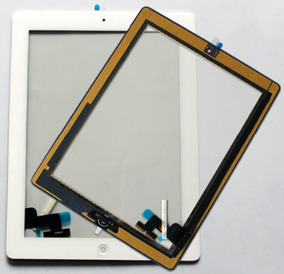 Baixou! Tela Vidro Touch Screen iPad 2 / iPad 3 + Adesivo 3m
