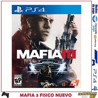 Mafia 3 Ps4 Fisico | Nuevo