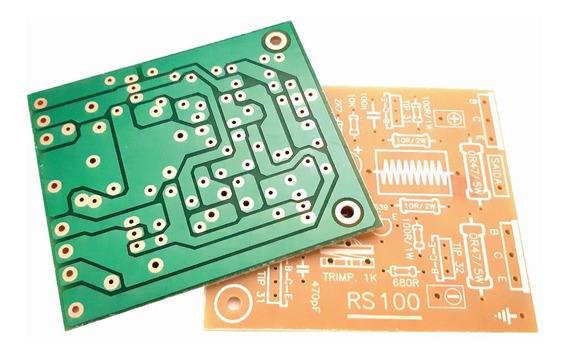 2 Placas Amplificador 100w Rms Para 2sc5200/2sa1943