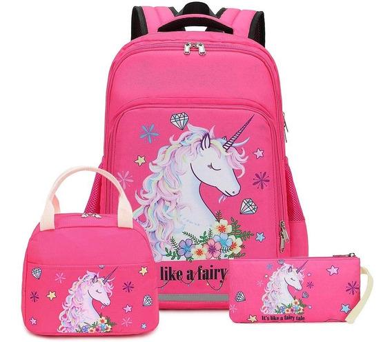 Mochilas Escolares Unicornios Niñas Primaria Btoop Medianas