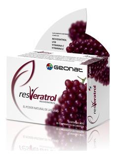 Geonat Resveratrol Antioxidante Anti Edad X 30 Comprimidos