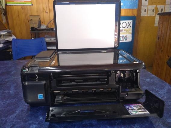 Impressora Hp C4480 Usada Tampa Frontal Quebrada Ref 098