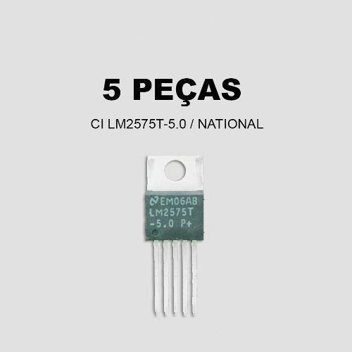 Ci Lm2575t / Lm2575 / Lm2575t-5.0 / Lm2575-5.0 (5 Peças)