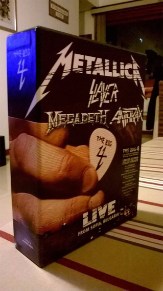 Metallica - Slayer - Antrhax - Megadeth - Big For Completo!!
