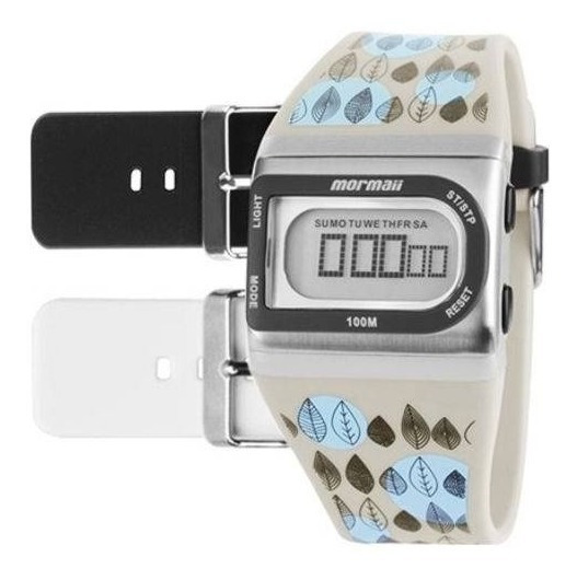 Relógio Mormaii Troca Pulseiras Unissex Fzi/8b