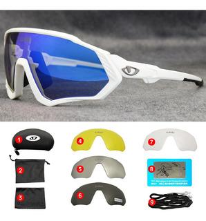 Óculos Esportivo P/ Ciclismo C/ 5 Lentes