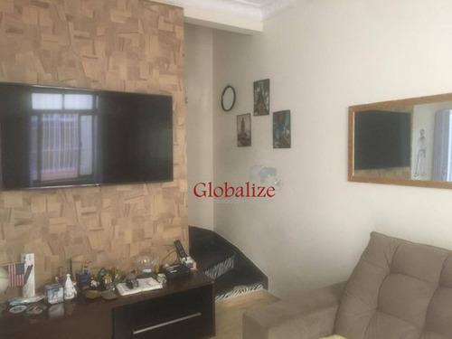 Imagem 1 de 28 de Sobrado À Venda, 75 M² Por R$ 386.000,00 - Boqueirão - Santos/sp - So0016