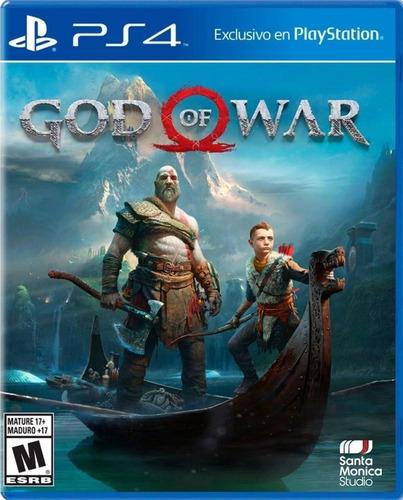 Imagen 1 de 1 de God Of War 4 - Ps4 Fisico Nuevo & Sellado