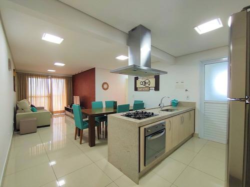 Imagem 1 de 27 de Apartamento Reformado Com 3 Dormitórios Em Condomínio Com Lazer Completo E 2 Vagas Na Praia Das Astúrias - Guarujá. - Ap1178