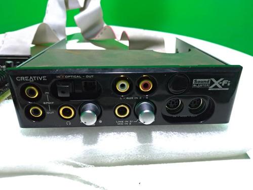 Imagem 1 de 10 de Placa De Som Creative Sound Blaster X-fi Sb460 - Com Mixer