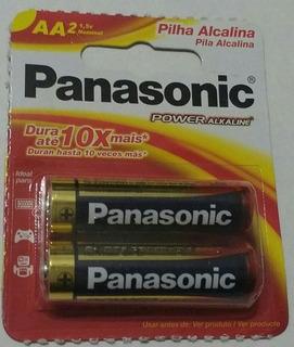 Pila Panasonic Aa Alcalina Power 1,5v (blister Con 2 Unid)