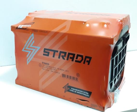 Bateria 60 Amperes Strada St60dd Barata, Garantia 12 Meses