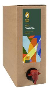 Aceite De Oliva Virgen Extra Taggiasca, Pique Roto 3l.