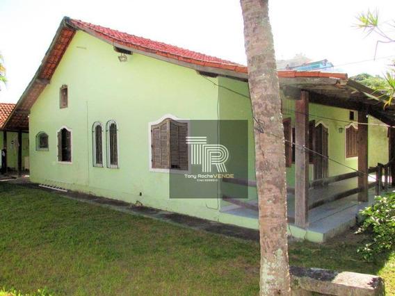 Investimento Casa 3 Quartos, 4 Vagas, 490m² De Terreno - Charitas - Ca0051