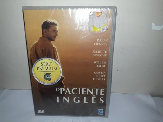 Dvd Filme O Paciente Inglês Dublado Lacrado