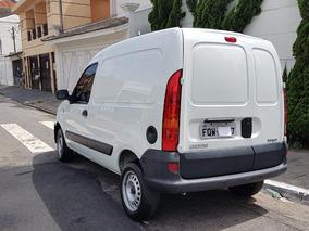 Renault Kangoo Furgão 1.6 Flex Branca Completo 2014