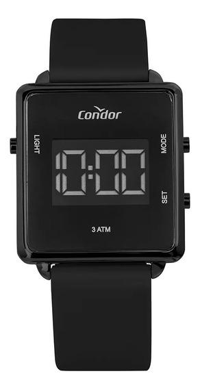 Relógio Feminino Condor Digital Silicone Preto Cobjf156ag/2p