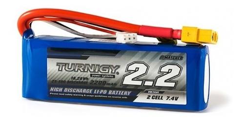 Batería Lipo Turnigy 7.4v 2s 2200mah 20c