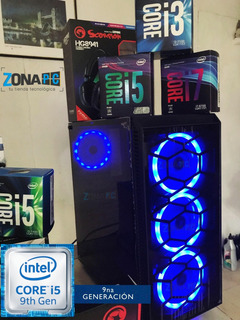 Cpu Corei5 2da 8gb 500hd Case Gamer Es Opcional Asus Gtx 750