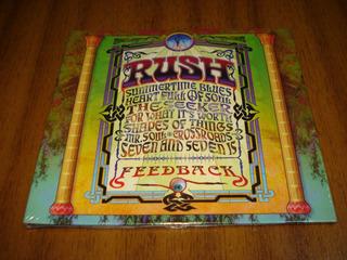Cd Rush / Feedback (nuevo Y Sellado)
