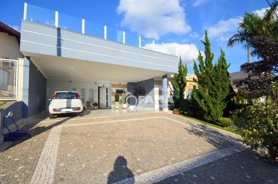 Casa Com 3 Dormitórios À Venda, 267 M² Por R$ 1.200.000,00 - Condomínio Metropolitan Park - Paulínia/sp - Ca2019