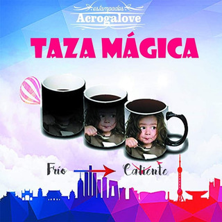 Taza Mágica Negra