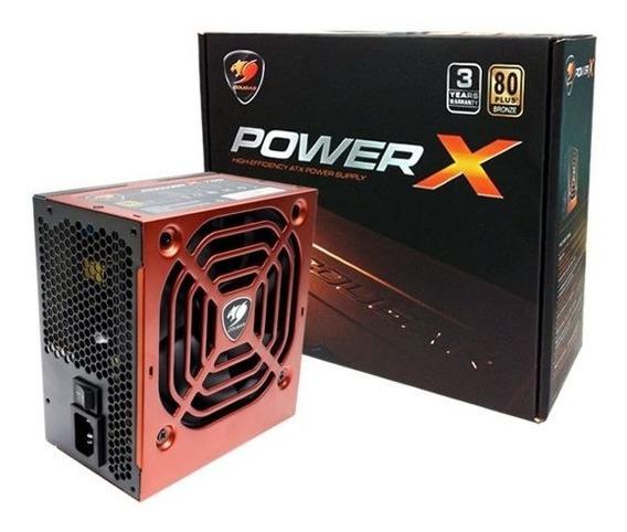 Fonte Cougar Power X 550w 80plus Bronze - Até 87% Eficiência