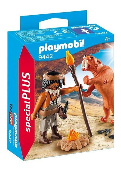 Playmobil 9442 Homem Das Cavernas Special Plus Geobra
