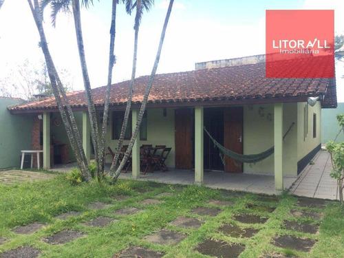 Imagem 1 de 16 de Casa Residencial À Venda, Belas Artes, Itanhaém. - Ca0878