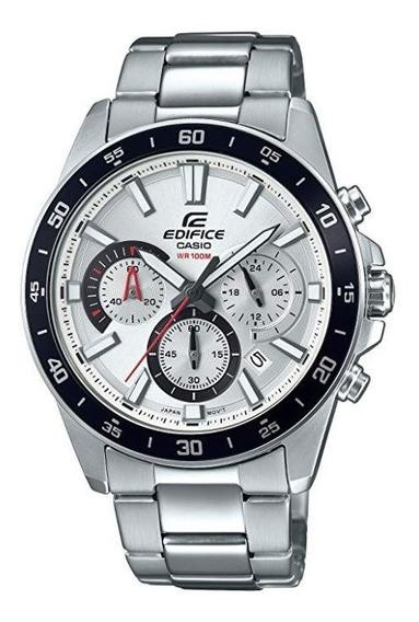 Reloj Casio Edifice Nuevo Acero Inoxidable Efv-570d-7avudf