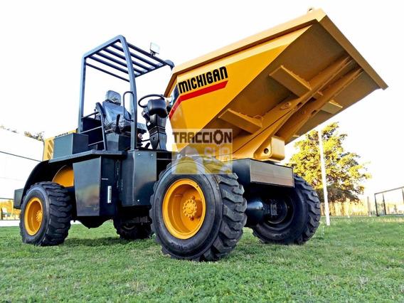 Nuevo Volquete D15gm Michigan 1.5 Mt3 4x4 Articulado Diesel