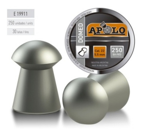 Chumbo Apolo Domed 5.5mm
