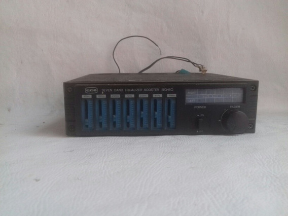 Equalizador Cce Seven Band Mod:bq60