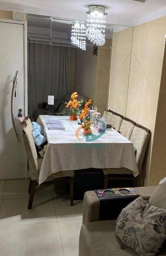 Imagem 1 de 25 de Apartamento Com 2 Dormitórios À Venda, 44 M² Por R$ 255.000,00 - Centro - Guarulhos/sp - Ap1001