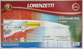 Ducha Advanced Turbo Pressurizador Lorenzetti 220v 7500w