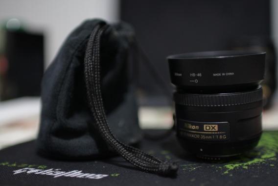 Lente Nikon 35mm F1.8 Dx