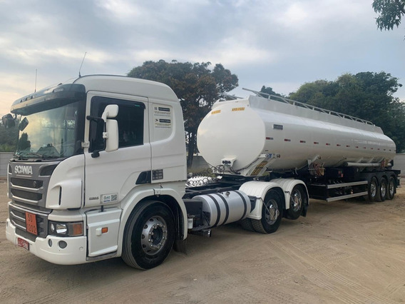 Scania P360 2013 + Carreta Tanque Randon 35000l Bottom 2013