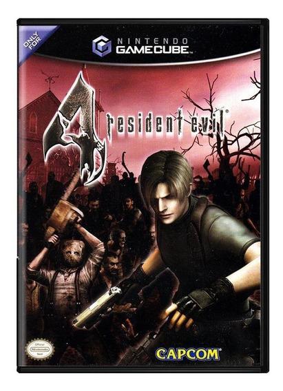 Resident Evil 4 Gc Gamecube Mídia Física Pronta Entrega