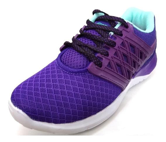 Zapatillas Deportivas De Mujer Gaelle Cyan