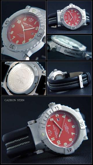 Relógio Gadison Stern Automático Série T-force - Red