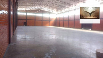 Galpão Com Pátio De Manobra , Vestiários , Refeitório , Terreno De 5.000 M² Comercial Para Locação, Iná, São José Dos Pinhais. - Ga0002