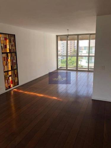 Apartamento Com 4 Dormitórios À Venda, 170 M² Por R$ 1.325.000,00 - Morumbi - São Paulo/sp - Ap35505