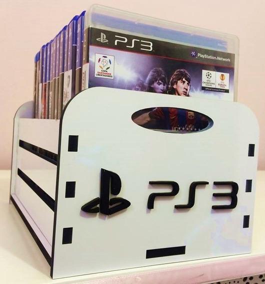 Porta Jogos, Caixa, Case P/ Game - Ps3 Branca