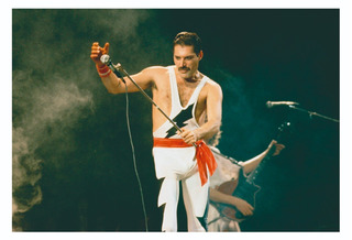 Poster Freddie Mercury Queen 48x33 Cm