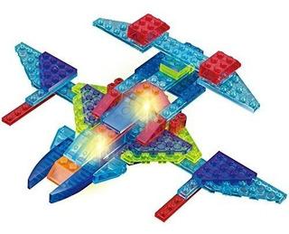 Crystaland Bloques Didácticos Lego Ladrillos C/luz 4 En 1