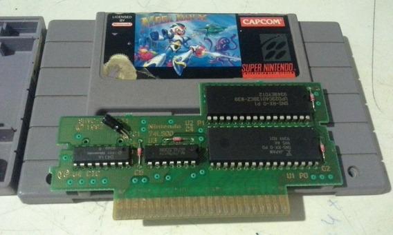 Mega Man X 100% Original Megaman X Snes