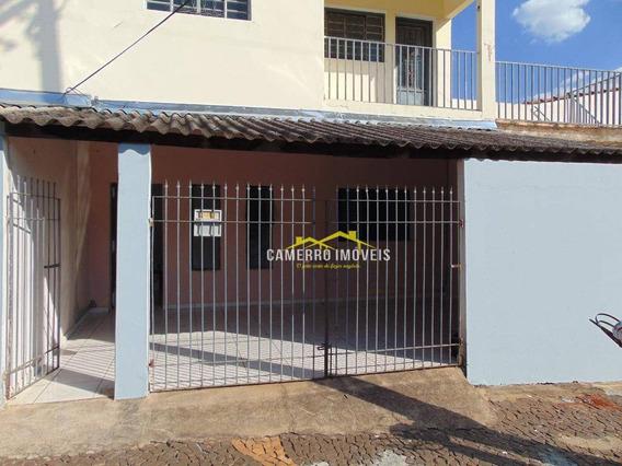 Casa Com 2 Dormitórios Para Alugar, 80 M² Por R$ 780/mês - Jardim Pântano - Santa Bárbara D