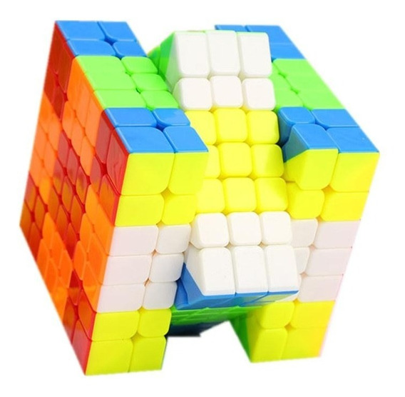 Cubo Mágico 7x7x7 Qiyi Wuji Colorido Profissional O Melhor
