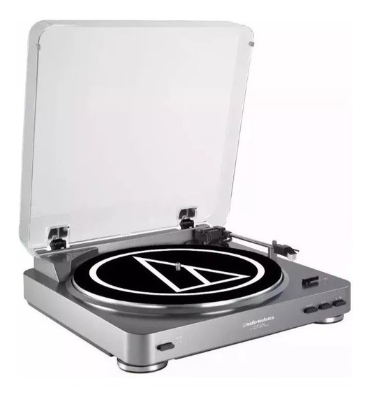 Toca Disco Áudio Technica At-lp60- Usb Turntable